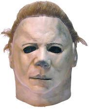 Halloween ll LifeSize Costume MICHAEL MYERS LATEX DELUXE MASK Haunted House NEW