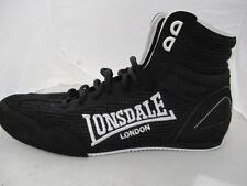 Botas De Boxeo Lonsdale Contender Para Hombre UK 8 nos 9 EUR 42 ref 3192+