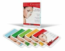 Rejuvenating Miracle Mask Assorted Pack of 5 Collagen Essence by BioMiracle