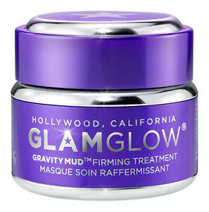 Glamglow GravityMud Firming Treatment .5 oz 15 g. Facial Mask