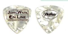 John Waite White Pearl Bass Guitar Pick - Ringo Starr - The Babys - Bad English