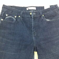 Ladies Levi's 505 Straight Leg Blue Jeans Sz 10 Free Shipping 724