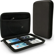 """Black EVA Travel Case Cover for Lenovo Tab 2 & 3 8"""", 3 8"""" Plus, Yoga Tab 3 8"""""""