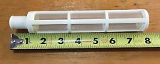 "Hy 3350-32 End Line Strainer 3/4"" Male Hose Barb 1 1/4"" x 7"" 80 mesh"