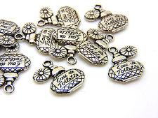 10 pcs - 20mm tibetan silver flacon de parfum charmes femmes bijoux perles R78