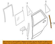 Bmw Oem 08-14 X6 Glass-Rear Door-Guide Channel Left 51357187211