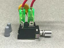 Pats Audio On/Off Power Switch Pre-Wired for Philips 212 or 312 Turntable