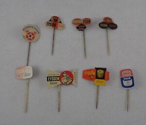 Koninklijke Eyssen Kaas (Cheese) Vintage Metal Pin Badges Circa 1960s - Set of 8