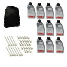 Automatic Transmission Filter Kit & Oil Pan with 10 Liters of Trans Fluid Febi