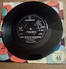 "THE ANIMALS - DON'T LET ME BE MISUNDERSTOOD  7 "" Single UK 1965 COLUMBIA"