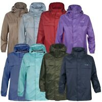 Trespass Packa Adults Packaway Raincoat Lightweight Waterproof Men Women Jacket