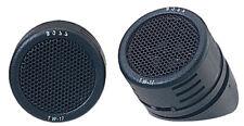Pair Of Boss Audio TW17B  Micro-Dome 200Watt Tweeters Up To 20kHz Frequency