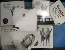 """STATUS QUO - AQUOSTIC ; rare deleted import Box Set with T-Shirt, 7"""" Single, Pri"""