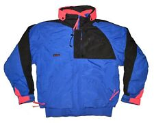Columbia Vintage 3 in 1 Ski Jacket Mens Large Blue Criterion Retro Winter Coat