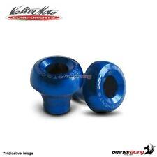 Tamponi paratelaio Valtermoto STREET blu + kit adattatori per Yamaha R1 2005