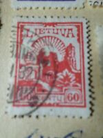 Lithuania Lietuva, 1923, Stamp Classic N° 180, Obliterated, VF Used Stamp