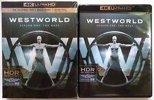 WESTWORLD SEASON ONE THE MAZE 4K ULTRA HD BLU RAY 6 DISC SET + SLIPBOX FREE SHIP