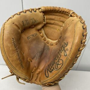 Rawlings RCM30 Mike Piazza Autograph Model LHT Catchers Mitt Glove
