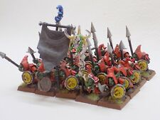 Orcs and Goblins NIGHT GOBLINS with SPEARS x20 Well Painted Oldhammer GW 51487