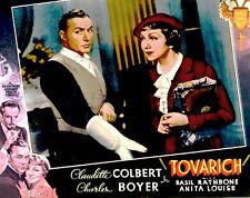 Tovarich - 1937 - Claudette Colbert Charles Boyer - Vintage b/w Comedy Film DVD