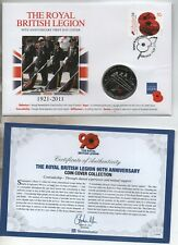 More details for 2011 jersey 5 pound  90th anniversary  royal british legion fdc