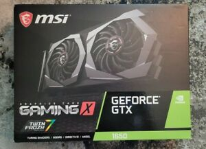 MSI Video G1650GX4 GeForce GTX 1650 Gaming Graphics Card