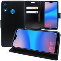 "Etui Coque Housse Portefeuille Rabat Cuir PU Huawei P20 Lite/ Nova 3e 5.84"""