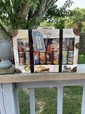 Global Hot Sauce Collection, 8 Piece Case Collection Gift Set - NEW w/tags