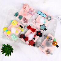 5Pcs Toddler Star Bow Hair Mini Sweet Clip Baby Girl Barrettes Hairpins Clips