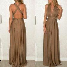 Bridesmaid convertible multi way wrap maxi beach long Women formal evening dress