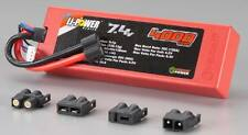 Venom 1554 2S 7.4V 4000mAh 20C Lipo Battery w/ Universal Plugs