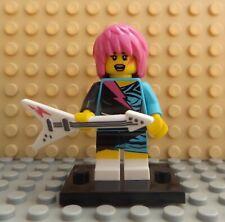 LEGO Brand New Series 7 Rocker Girl Minifigure 8831 Ideal Collector Mini Figure
