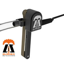 "Li'l Gusher 6"" Reach CNC Belt Oil Skimmer Coolant Lifetime Warranty-Made in USA"