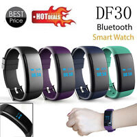 OLED Bluetooth Smart Watch DF30 GSM Wristband Smartwatch For Android And Iphone