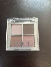 New CLINIQUE all about Shadow QUAD 06 Pink Chocolate Size Of 0.07 Oz/ 2.2g