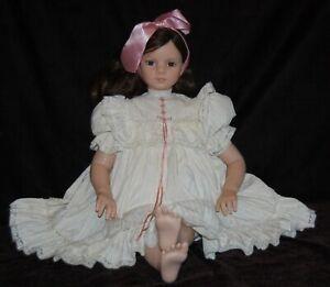 "Rotraut Schrott MARTINA The Great American Doll Co GADCO Brunette Bow Vinyl 29"""
