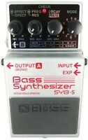 BOSS SYB-5 Base Synthesizer Guitar Effects Pedal #K21 with Box Free Shipping