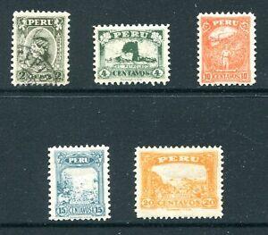Peru 1931 - 1932 Unused Lot with #297