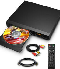 Dvd Players for Tv with Hdmi/Av/Coaxial Output, Usb Input Port, Include Remote