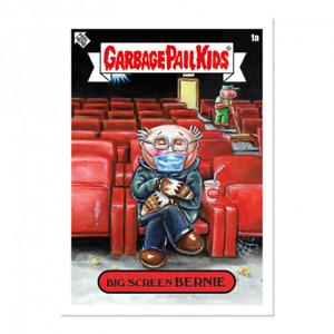 Topps 2021 Garbage Pail Kids GAMESTONK Gamestop stickers 1A Big Screen Bernie