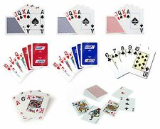 COPAG Poker Size Single Deck PLAYING CARDS - Range of Designs - 100% Plastic