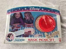 "Disney - "" Snow White"" Magic Picnic Set for 4. 1993 - NEW IN BOX!!!!  MINT!!!"
