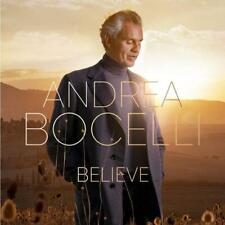 Andrea Bocelli Believe CD New1-disc Grace Hallelujah
