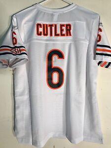 Reebok Women's Premier NFL Jersey Chicago Bears Jay Cutler White sz L