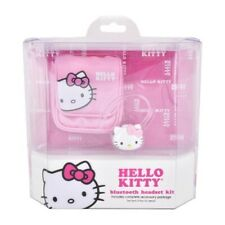 Hello Kitty Wireless In-Ear Handsfree Bluetooth Headset w/Case/Bag Accessory Kit