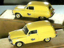 SIMCA ARONDE P 60 FOURGONNETTE MESSAGERE : POSTE PTT 1962 / UNIVERSAL HOBBIES