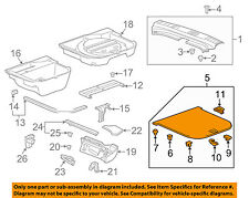 Cadillac GM OEM 10-12 SRX Interior-Rear-Floor Cover 20977713