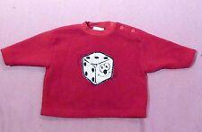 Sweatshirt * Roter Babyshirt - Pulover Fleecshirt  gr. 68 *