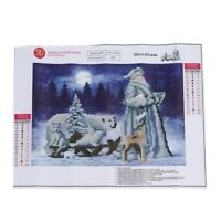 Santa Claus & Animals 5D Diamond Painting Embroidery DIY Paint-By-Number Ki L3O8