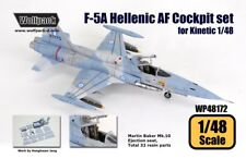 Wolfpack 1:48 F-5 A Hellenic AF Cockpit Set for Kinetic Kit - Resin #WP48172